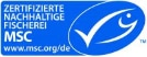 Logo MSC - Zertifizierte Nachhaltige Fischerei