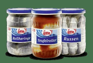 ELFIN Fischmarinaden und Sauergemüse